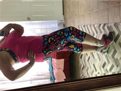 Stephanie T. verified customer review of Merry Fitmas Leggings