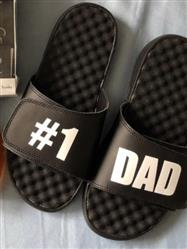 Anonymous verified customer review of #1 Dad White Text on Black