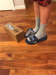 Anonymous verified customer review of Your Customized ISlide Sandal~6