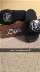Brittany H. verified customer review of Your Customized ISlide Sandal~9
