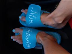 Michela S. verified customer review of Your Customized ISlide Sandal~11