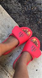 Nora E. verified customer review of Your Customized ISlide Sandal~13