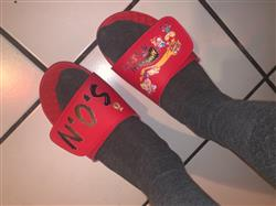 Aaron J. verified customer review of Your Customized ISlide Sandal~13