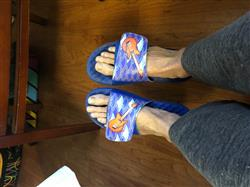 Michael S. verified customer review of Your Customized ISlide Sandal~12