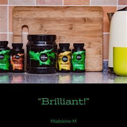 Madeleine M. verified customer review of Super Greens Powder