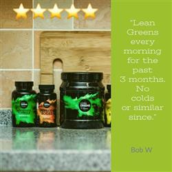 Bob W. verified customer review of Super Greens Powder