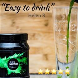 Helen S. verified customer review of Super Greens Powder