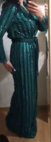 A***a verified customer review of Akilah Glitter Maxi Dress