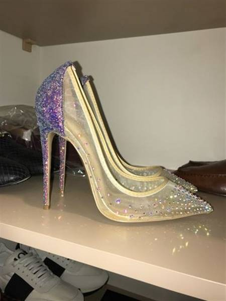 O***a verified customer review of Complete My Look Multi color Rhinestones Pumps