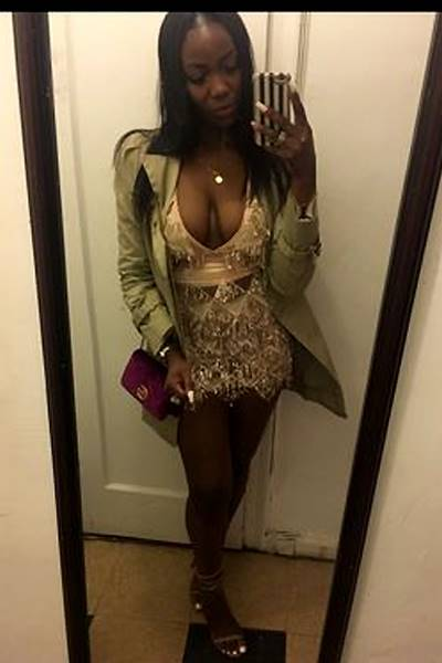 Kerene P verified customer review of Say My Name Sequin Fringe Dress