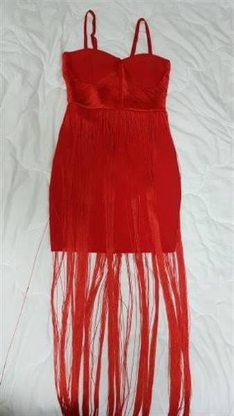 J***n verified customer review of Vivienne Tassel Bandage Dress