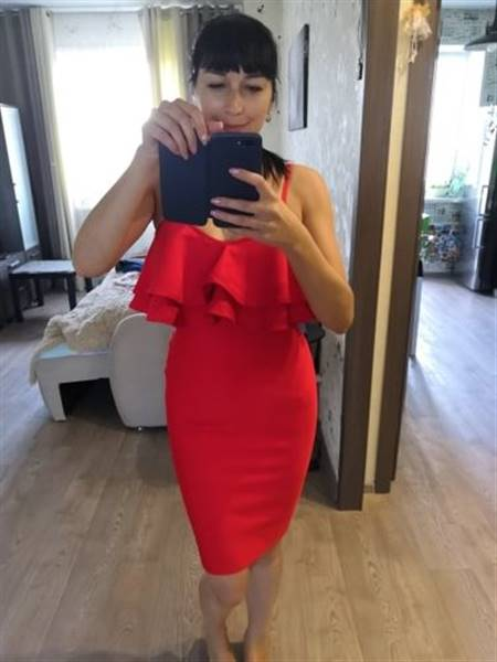O***a verified customer review of Ayanna Bandage Dress