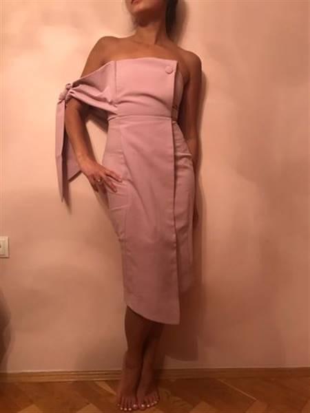 Shopper verified customer review of Mind Games Off Shoulder Dress