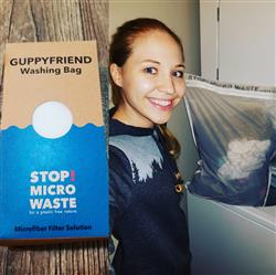 Nicole Gibbs verified customer review of Guppyfriend washing bag