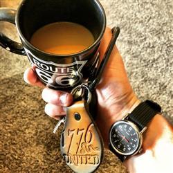 Michael K. verified customer review of 1776 United® Logo Keychain