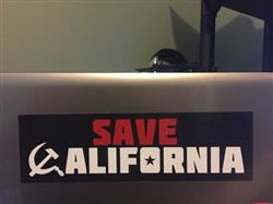 Ryan M. verified customer review of Save California Bumper Sticker