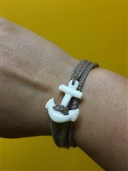 Samantha L. verified customer review of Anchor Wrap Bracelet