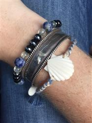 Madeline A. verified customer review of Scallop Shell Bracelet