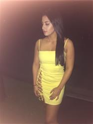 Lesly L. verified customer review of Cabo Dress - Yellow
