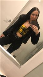 Elyse C. verified customer review of Sadie Half Top - Yellow And Black Check
