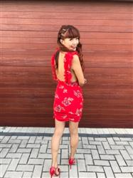 Yu-Hui W. verified customer review of Giselle Dress - Red Floral