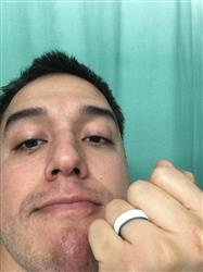 Daniel C. verified customer review of Groove Thin Silicone Ring - Turquoise