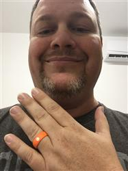 Danah H. verified customer review of Clemson Silicone Ring