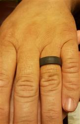 Desiree B. verified customer review of [NEW] Groove America Silicone Ring - Original - Deep Stone Grey NO COLOR FILL*