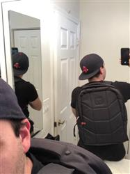 edgar s. verified customer review of VIBE Backpack