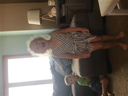 Sheena H. verified customer review of Gray & White Striped Romper