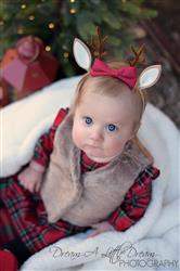 Sarah L. verified customer review of Reindeer Antler Headband