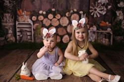 Lora A. verified customer review of Floral Felt Bunny Rabbit Ears Headband - Mauve, Ivory & Sea Foam