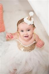 Kinsey M. verified customer review of Birthday Cone Crown - Ivory