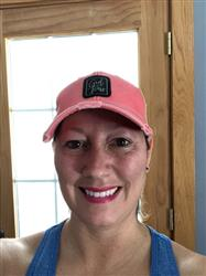 Anne V. verified customer review of Girl Boss Distressed Trucker Hat