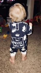 Kelsie M. verified customer review of 'Baby Moose' Jumpsuit