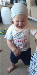 Ryden E. verified customer review of 'I got these guns from my Daddy' Outfit