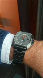 Cor B. verified customer review of Rebel-A Gray IP Swiss Automatic Gray Dial