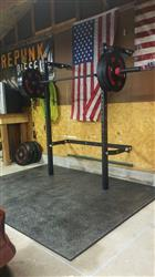 Corbin M. verified customer review of Profile® Folding Squat Rack