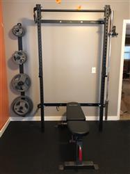 Stephanie P. verified customer review of Profile® Squat Rack with Pull-Up Bar