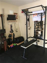 Manolito F. verified customer review of Profile® Squat Rack with Kipping Bar™ (As seen on ABC's Shark Tank!)