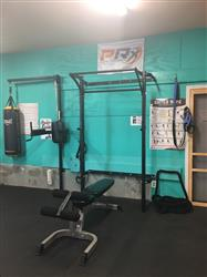 Cindy H. verified customer review of Profile® Squat Rack with Kipping Bar™ (As seen on ABC's Shark Tank!)