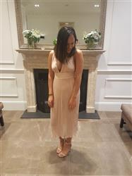 Megan Nguyen verified customer review of Marika Dress