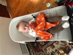 Rosalie A. verified customer review of Organic Basketball Rattle Baby Toy