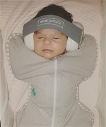 Danielle D. verified customer review of New Junior Baby Earmuffs - Cool Grey