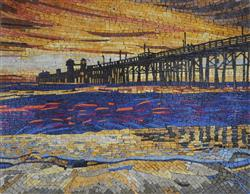 Tom and Janet Hudson verified customer review of Abstract Mosaic - The Sunset Walk