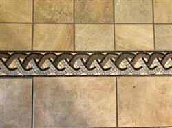 Carmelita E. verified customer review of Mosaic Border Rope Design
