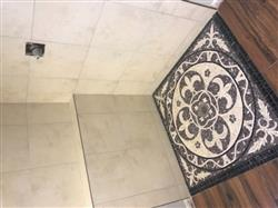Vicki G. verified customer review of Fleur de Lis Marble Mosaic - Lyla II