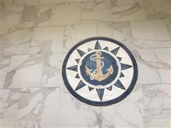 Belinda P. verified customer review of Anchor on Blue Background Nautical Mosaic