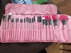 24pcs Professional Soft Makeup Brush Set Kit With Case