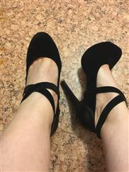 Criss Cross High Heel Pump Shoes